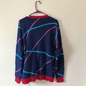 T.J.Maxx Sweaters - Ugly Christmas Sweater Light Up Cat Santa Hat